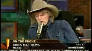 Chris Matthews Drops F-Bomb On Imus