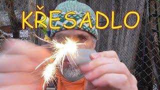 Křesadlo - 3 způsoby rozdělání ohně křesadlem