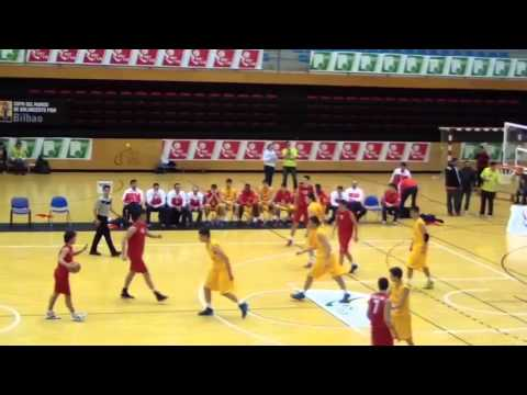 Aitor Lopez Basque Country vs Spain Full Basketball Game - GloBall Alliance