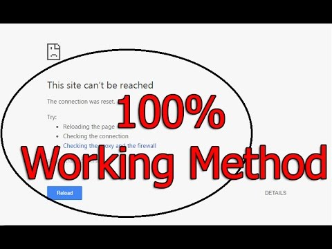 Site Cannot Be Reached - How To Fix Site Can't Be Reached Problem In Google  Chrome
