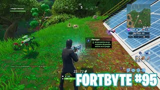 Fortnite Battle Royale ? Défis Fortbyte Comment obtenir le #95 Fortbyte