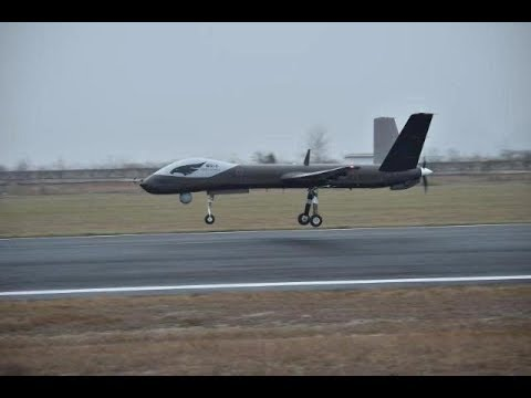 China's Wing Loong I-D drone makes maiden flight  CCTV English