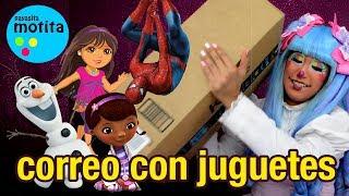 Llegaron juguetes por Correo Payasita Motita regalos y vídeos para niños