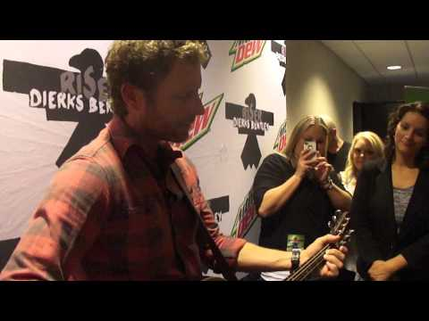 dierks bentley pre-show performance - come a little closer