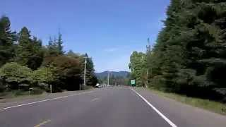 Olympic Peninsula Drive: Through Forks, Washington (Beware of Vampires)