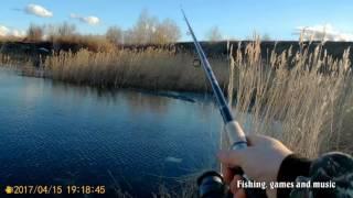Первая рыбалка в 2017 году. Пешая прогулка до Елшанского.