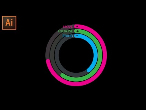 Adobe Illustrator Tutorial - Activity UI Design