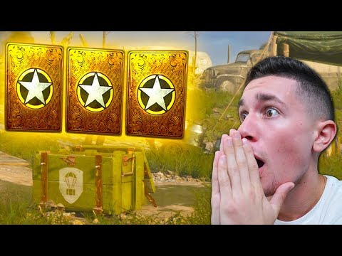 OPENING 40 SUPPLY DROPS IN CALL OF DUTY WW2! DOUBLE HEROIC WTF!