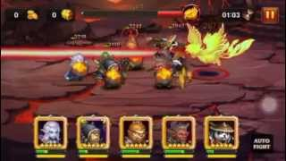 Heroes Charge: Burning Phoenix VI Team 2