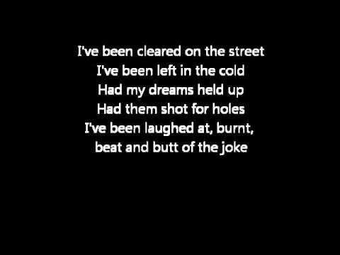 The Script - You Won't Feel A Thing [ Lyrics ]