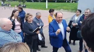 ЖК Эстет митинг дольщиков, Подольск 17.06.17