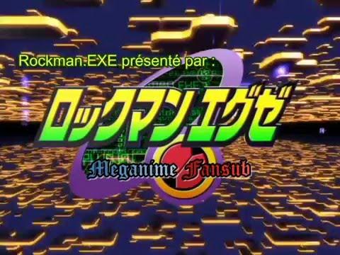 Rockman.EXE Opening 1 Vostfr [Kaze wo Tsukinukete}