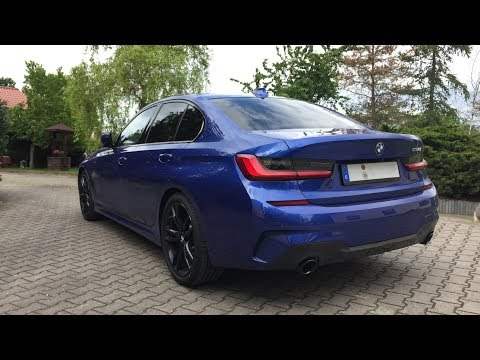 2019 BMW G20 330i 258 HP Stock Exhaust Sound M Sport Automatic
