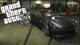 GTA V: Custom Car Build || PS3 || Tokyo Drift