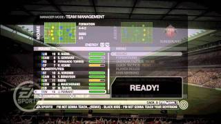 FIFA 09 Manager Mode Ep 1