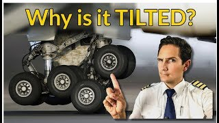 Why is the LANDING GEAR TILTED? Explained by CAPTAIN JOE
