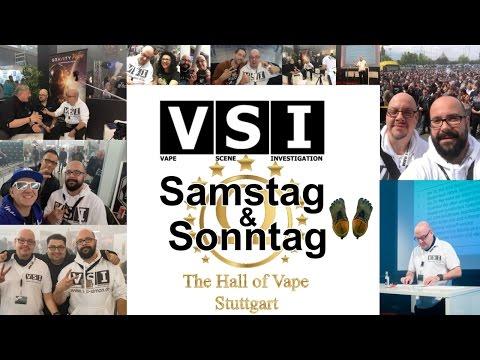 Hall of Vape - Teil 2 - Samstag und Sonntag