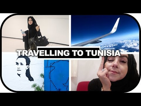 VLOG: TRAVELLING TO TUNISIA 24HRS NO SLEEP! | Amina Chebbi