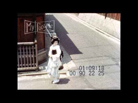 STOCK FOOTAGE-HD- 1960s Japan Life Town & Country