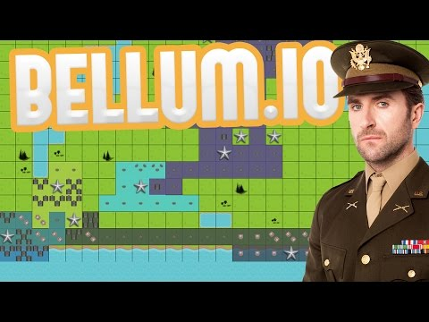 Bellum.io - This Is War! - Building the Largest Empire! - Risk-like IO Game - Bellum.io Gameplay