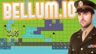 Bellum.io - This Is War! - Building the Largest Empire! - Risk-like IO Game - Bellum.io Gameplay