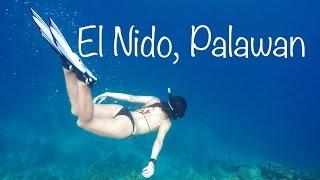 snorkeling and diving el nido palawan philippines
