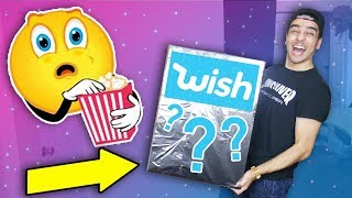 WISH SENT US A $1000 MYSTERY BOX! Wish.com Product Mystery Box Unboxing!