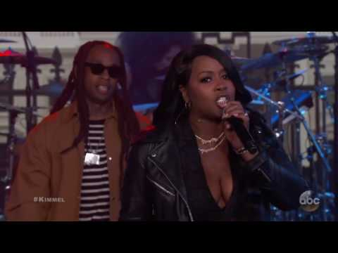 Fat Joe & Remy Ma - 'Money Showers' featuring Ty Dolla $ign Live on Jimmy Kimmel