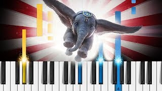 "Arcade Fire - Baby Mine (from ""Dumbo"") - EASY Piano Tutorial"