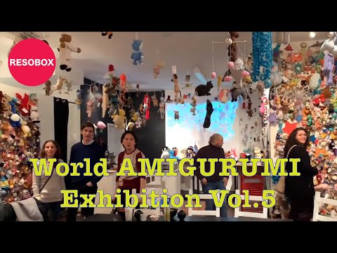 Resobox Gallery: World Amigurumi Exhibition Vol. 5 - Tarturumies | 360x480