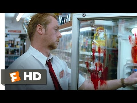 Shaun of the Dead 28 Movie   Oblivious to the Zombies 2004 HD