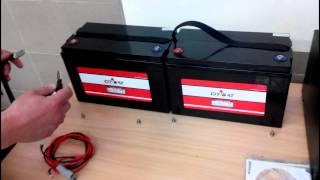 ИБП для газовых котлов сборка P-Com Pro 1H и CitiBat CT 12-100(В этом видео Вы узнаете как правильно подключить аккумуляторные батареи CitiBat CT 12-100 к источнику бесперебойн..., 2014-07-03T06:45:40.000Z)