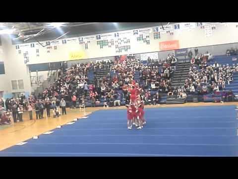 Riverside High School Cheerleaders Chattaroy WA