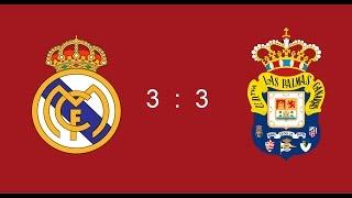 Реал Мадрид - Лас Пальмас 3-3 Футбол. Лучшие моменты 1.03.2017 Real Madrid - Las Palmas