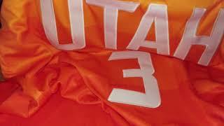 Баскетбольная джерси Nike NBA Utah Jazz №3 Ricky Rubio магазин Basket Family