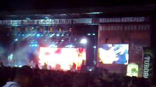 Belgrade Beer fest Riblja Corba-Srbin je lud 2011