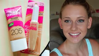 Cover Girl Ready Set Gorgeous Foundation & Concealer ♥ First Impression + Demo! Thumbnail