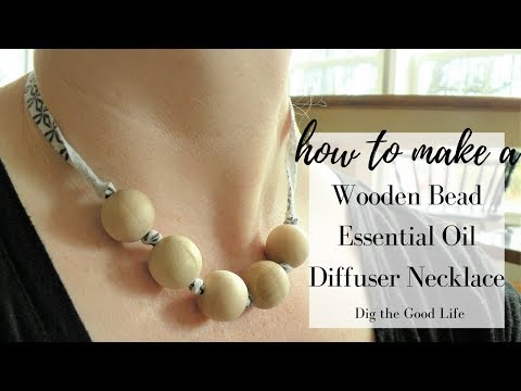 Recycle a T-Shirt into an Oil Diffuser Necklace