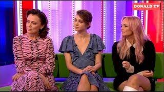 BBC The One Show 27/02/2019 Keeley Hawes, Emma Appleton &  Emma Bunton