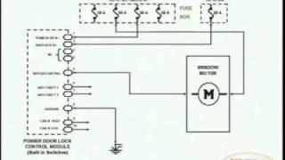Power Door Locks & Wiring Diagram