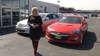 Genesis Coupe Video Test Drive with Criss Castle at Stamford Hyundai CT