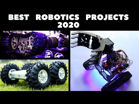 Robotics Projects for Engineering Students | Top  DIY Robots of 2020