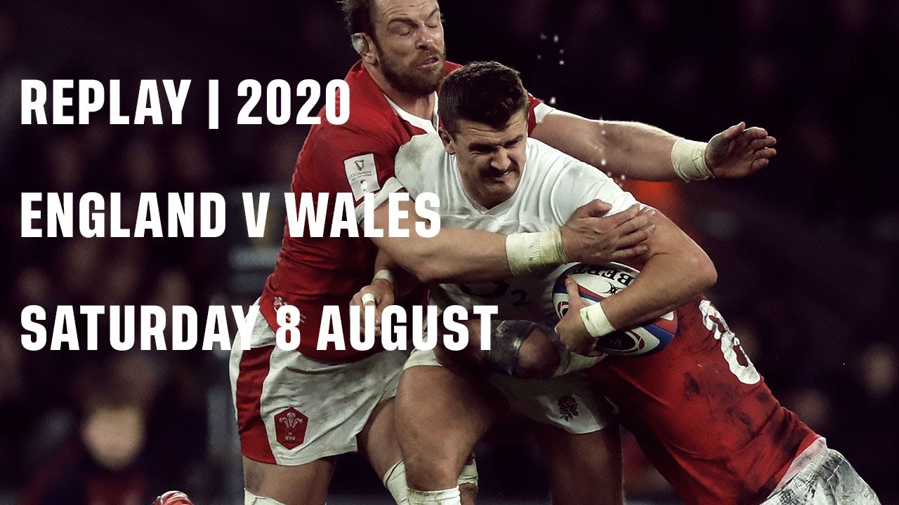 Replay | England v Wales 2020