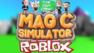 The FGN Crew Plays: ROBLOX - Magic Simulator