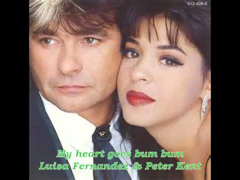 Luisa Fernandez & Peter Kent  My heart goes bum bum