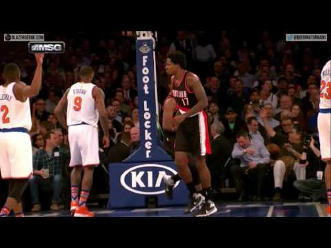 Major party foul - Portland Trail Blazers vs. New York Knicks