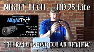 Night Tech HD 25 LiteThermal Monocular Review