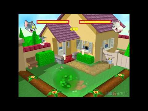 Tom & Jerry: Fists of Fury - Walkthrough N64 HD 720P Part 1 - Tom (Project64)