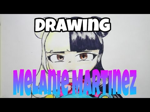 Drawing Melanie Martinez // requested by Yuri is so SHARP