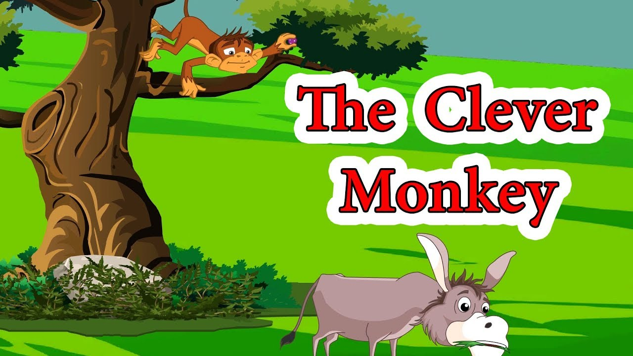 The Clever Monkey Panchatantra Moral Stories For Kids In English Maha Cartoon Tv English Youtube